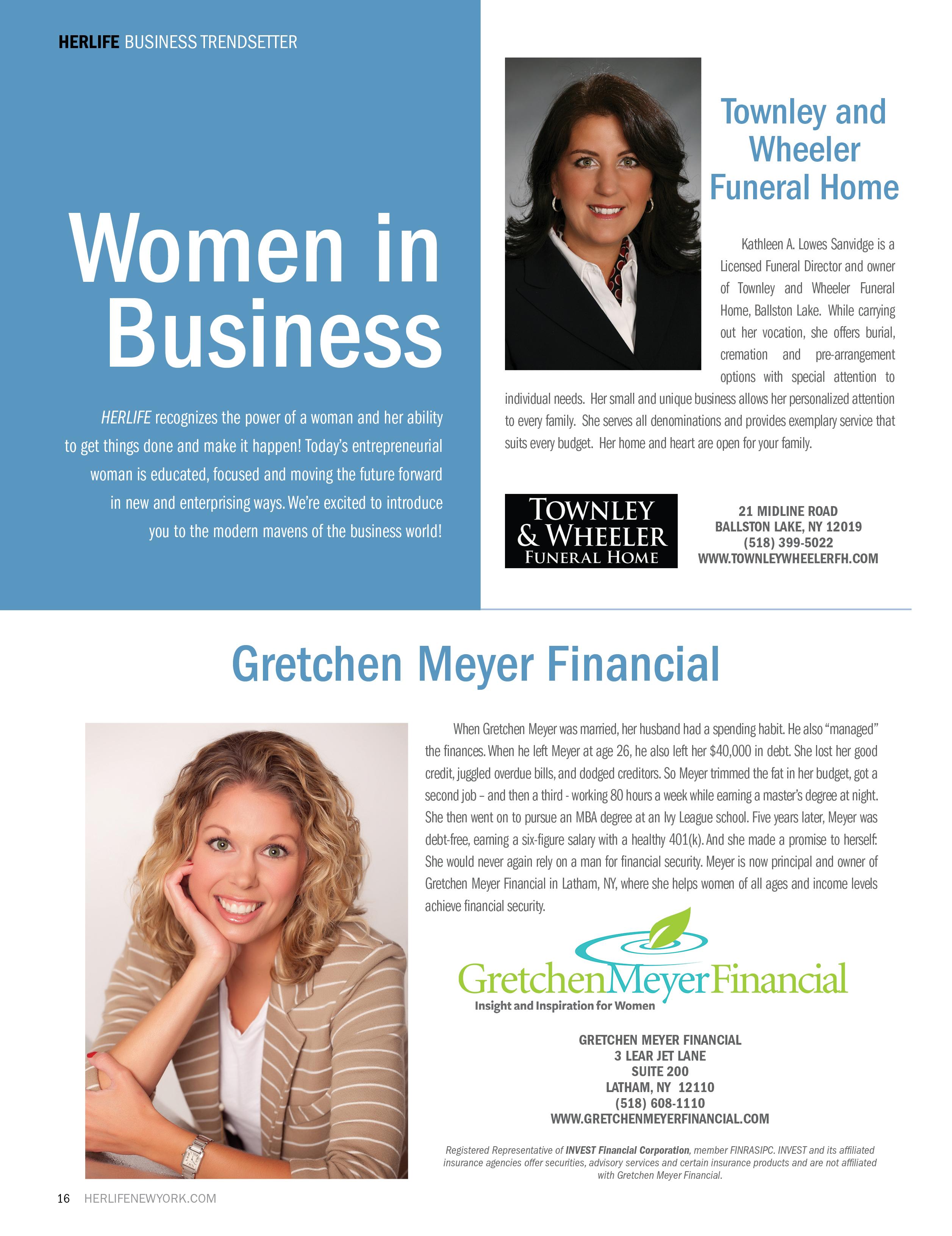 Women in Business – Capital Adirondack New York Magazine ...
