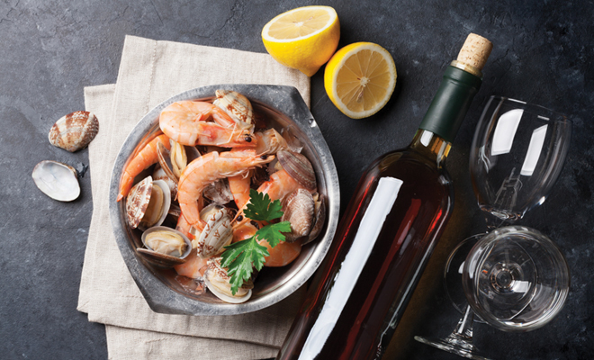 Wine and seafood pairings capital adirondack new york for Fish market albany ny