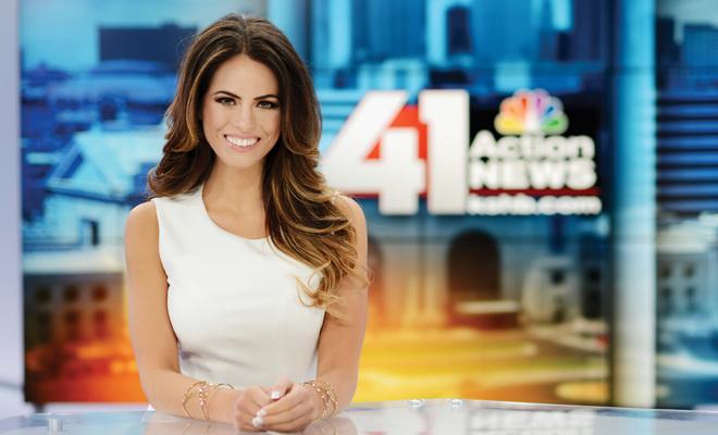 Reporter and Sporting KC Sportscaster Kacie McDonnell – Kansas City