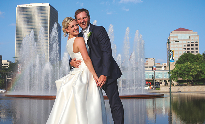 Kate Amp Zane Tie The Knot Kansas City Magazine For Women