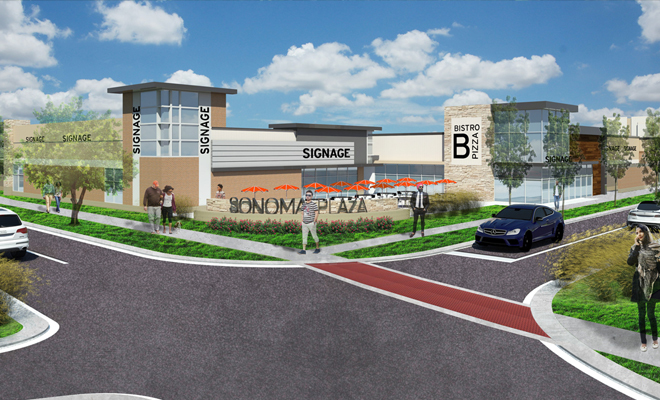 Sonoma plaza incorporates luxury living in an upscale community environment kansas city for 400 garden city plaza