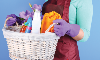 bigstock-Housewife-holding-basket-with--61894304